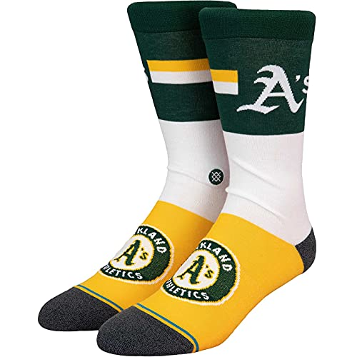Stance Color Oakland Athletics Socken (43-47, white, numeric_43)