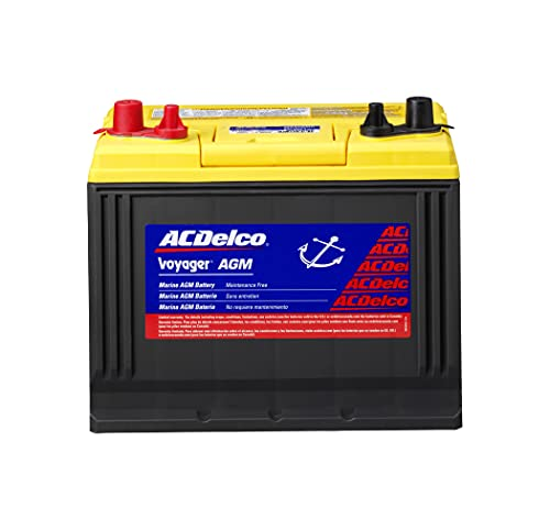 ACDelco Gold M24AGMC 24 Month Warranty Marine AGM BCI Group 24 Battery