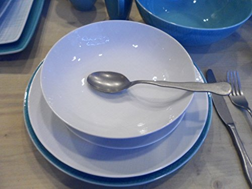 Rosenthal - Vajilla de malla blanca de 18 piezas