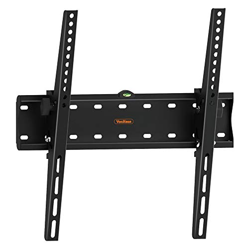 VonHaus Soporte de Pared de TV Inclinable de 26-55 Pulgadas (55-140cm) - Soporte inclinable para Pantallas compatibles con VESA, Capacidad de Peso de 40 kg