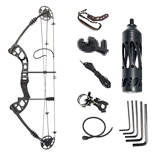 SHARROW Archery Compound Bow Kit 30-55lbs Complete Compound Bow Arrow...