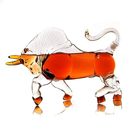 10. Charging Bull Decanter