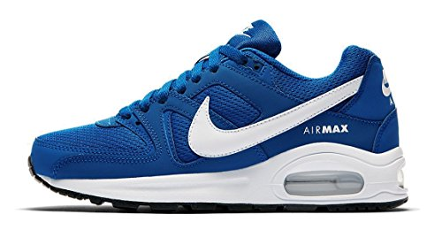 Nike Mädchen Air Max Command Flex Gymnastikschuhe, Blau (Blue Jay/White/Black), 38 EU