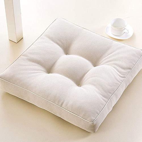 KELE Tatami Japonés Futón Almohadillas para sillas, Sala de Estar Gruesas...