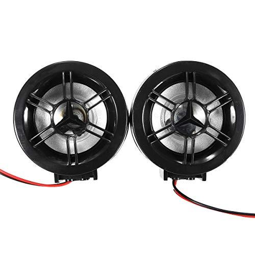 GNY Bocina eléctrica Motorcycle Audio Stereofony FM MP3 Amplificador Altavoz Anti Robo Alarma USB con función Bluetooth DC 12V