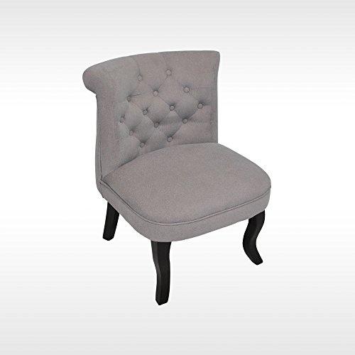 HTI-Line Französischer Sessel Antoinette Barockstil Sessel Vintage Polstersessel Relaxsessel...