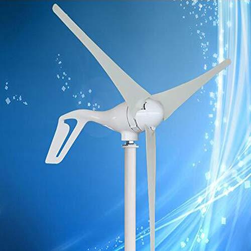 MEIGONGJU Kleine Windmühle 400W suiltable für Straßenlaterne oder Boot, einschließlich wasserdicht Wind-Controller, CE-Zertifizierung,3 Blades,24V