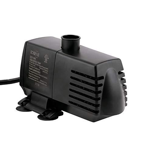 EcoPlus 728310 Pump, 396 GPH, Black
