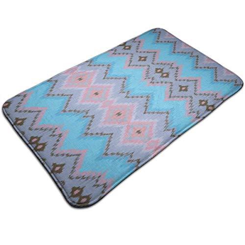 N/A Badmatten Anti-slip Matten Magic Mint Koraal Blauw Deurmatten Super Absorbens Binnen/buiten Gebruikt 19.5