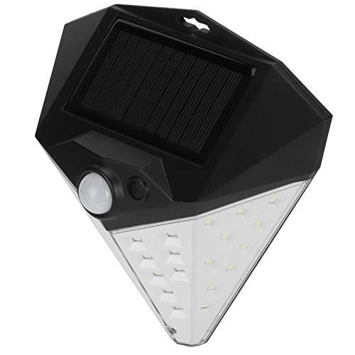 Lámpara de pared, alto brillo 6.1X5.9X3.0In Luz solar conveniente para vitrinas para techos de techos para villas para puertas de jardín para paredes de patio para pasillos