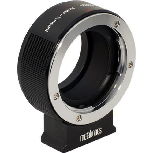 Metabones Rollei X-Mount Adapter schwarz/Chrom