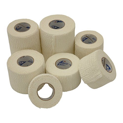 "Jaybird & Mais 4600-2075 Jaybird and Mais 4600 Lightweight Athletic Stretch Tape: 2"" x 7-1/2 yd, White"