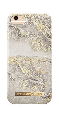 iDeal Of Sweden Handyhülle für iPhone 8/7 / 6 / 6s (SS2019) (Sparkle Greige Marble)