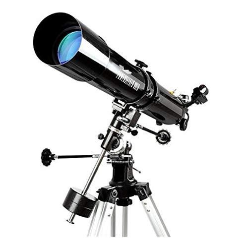 Estilo SG 80EQ Telescopio Astronómico 80/900 Entrada HD Profesional Sistema Telescopio Óptico De Refracción Montura Ecuatorial Alemana