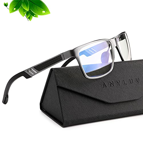 ANYLUV Blue Light Blocking Glasses Women Men - Computer Gaming Glasses Anti Eyestrain