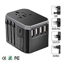 Universal Plug Black-gray Plug Adaptor Travel Adapter Universal Power Adapter Charger For Us Uk Eu Au Wall Electric Plugs Sockets Converter