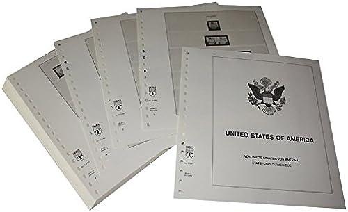 Lindner T Vordruckbl er T512 69 USA Frei-, Gedenk- und Luftpostmarken- Jahrgang 1969 bis 1977