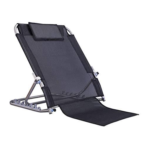 LZQBD Family Care/Zurück Rest Bed Hilfe |Bett Rückenlehne Einstellbare Winkel Mobilität Disability Support Hilfe |Bett Old Man Back Bracket Taille Stuhl Pflegestuhl Faule Stuhl Kapazität 200Kg