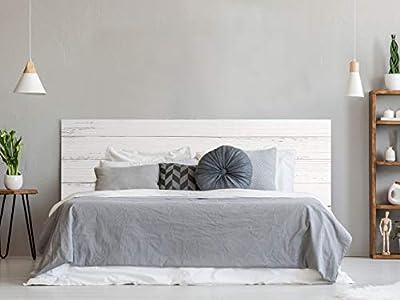 Cabecero fabricado en PVC de 5mm Cabecero de cama impreso digitalmente en PVC Cabecero ecónomico ideal para decoración de habitaciones Fácil colocación, resistente, ligero, aislante y de larga durabilidad Medidas: 150 cm de largo x 60 cm de alto