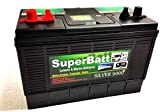 12V 120AH SuperBatt DT120 Heavy Duty Ultra Deep Cycle Dual Purpose Leisure...