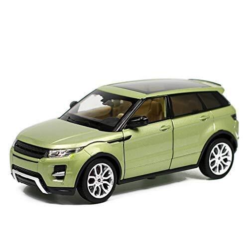 IMBM Modellino 1:24 Land Rover Aurora SUV Simulazione Lega Giocattoli Pressofusi Ornamenti Collezione di Auto Sportive Dimensioni 19,4x9x7 Cm