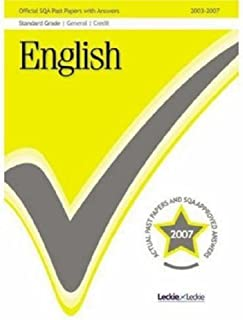 English Reading Found/Reading Credit/Writing (FGC) 2007/2008 SQA Past Papers
