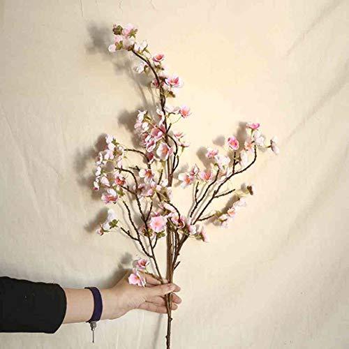 vijTIANDifine Multicolor Artificial Cherry Peach Blossom Fake Silk Flower Home Wedding Party Floral Decor Brand (B)