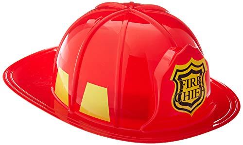 Leg Avenue Damen Fireman Headwrap, rot, One Size