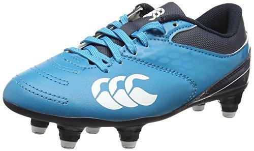 Canterbury Phoenix 2.0 Soft Ground, Unisex Kids' Firm Ground Rugby Boots, Carribean Sea, 13 UK (31.5 EU)