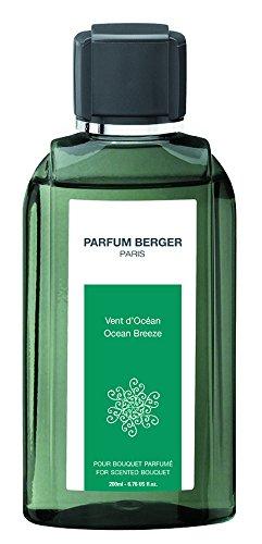 Berger-Recarga de Perfume para lámpara aromática, Color Naranja, Transparente, 200 ml, Aroma de Canela, Transparente, 6030 Recharge POUR Bouquet Parfum Vent D'OCÉAN Transparent 200 ML