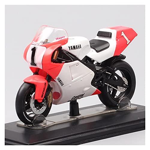 Boutique 1/24 para Yam┐AHA YZR OW98 500 Campeón del Mundo 1988 Rider E.Lawson N. ° 3 Motocicleta Diecast Y Vehículos De Juguete Modelo Bike Boy (Color : 3)