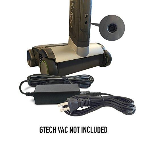 Abc Products® reemplazo Gtech–22V–27V Cargador de batería Adaptador de AC/DC Mains Adapter Power Supply Cord Plug y cable k13s270050b para Gtech Cordless Air RAM,...