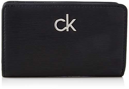 Calvin Klein Billfold French Wallet, Accessori Portafogli da Viaggio Donna, Black, One Size