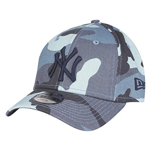 Newera - Tennis-Kappen für Jungen in Mittleres Blau, Größe 6-12 Jahre