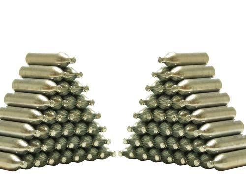 Unbekannt ASG CO2 Kapseln 12 g für alle CO2 - Waffen - Spar-Pack = 100 Stück