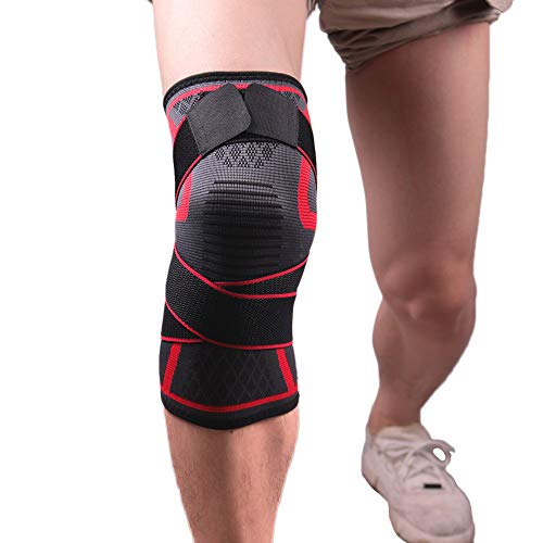 NEARTIME?Sports Knee Pads for Men and Women Autumn/Summer Badminton Running Fitness Outdoor Climbing Warm Unisex Compression Lift Knee Pads