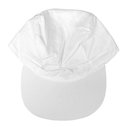Weißes Cap zum selbst Gestalten, Blanko Schirmmütze, Cappy   Wiemann Lehrmittel