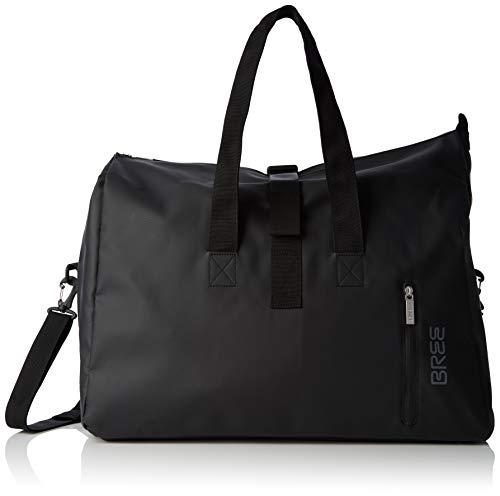 BREE Collection Unisex-Erwachsene Pnch 723, Weekender S Shopper, Schwarz (Black), 25x44x50 cm