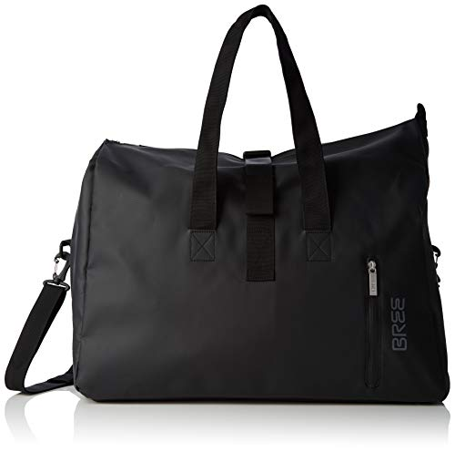 BREE Collection Unisex-Erwachsene Pnch 723, Weekender S Shopper, Schwarz (Black), 25x44x50 cm