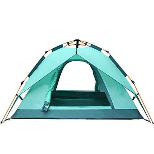 YANGSANJIN Campingtenten, snel open tenten, lichtgewicht waterdichte tenten - geschikt voor rugzakken, kajaks, camping, stranden en fietsen, 1-3 personen (blauw)