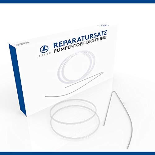 LIEBRECHT Reparatursatz Pumpentopf-Dichtung für Siemens/Bosch Geschirrspüler - (2 x Dichtung Spülmaschine)