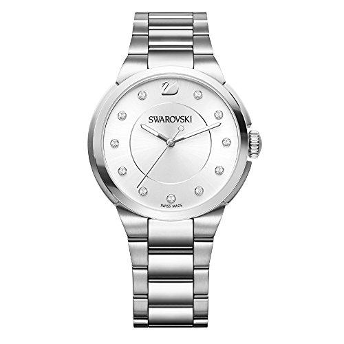 Swarovski City Simple White Pulsera Watch