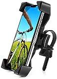 自転車 スマホ ホルダー 脱着簡単 片手操作 角度調整 360度回転自由調節,バイク スマホホルダー脱着簡単 防振, 落下防止, アンドロイド, に適用 iPhone X XS 8 7 6 6S Plus/HUWEI Mate P20 P10 lite/Xperia android多機種対応,4.7-6.8インチ 対応スマホホルダーステンレス鋼伸縮アーム 優れた耐久性 強力な保護