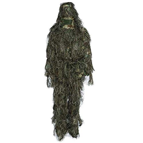Hunting Gilly Suit Suit Bag Camouflage Camo Jacket 3D Tactical Wildlife Photography, Birdwatching, Etc Christmas