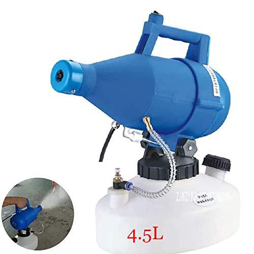 FYBAO 4.5L ULV elektrische Zerstäuber Tragbares Mist Sterilization Sprüher Ultra Low Volume Zerstäubers Handsprüher, 150-260ml / min