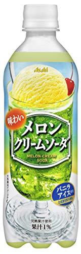 味わいメロンクリームソーダ 500ml×24本 PET