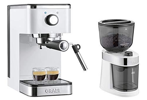 GRAEF Siebträger-Espressomaschine ES 401 salita mit Kaffeemühle cm 201