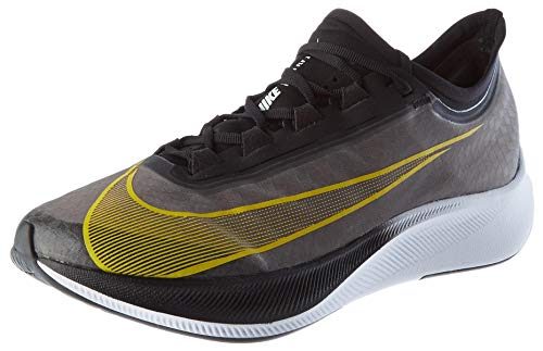 Nike Zoom Fly 3, Zapatillas para Correr para Hombre, Black OPTI Yellow White, 42 EU