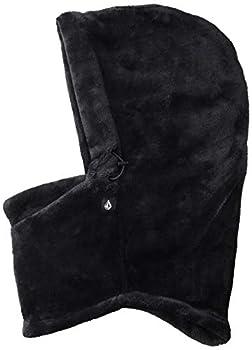 Volcom Junior s Advent Hooded Pullover Neck Warmer Black O/S