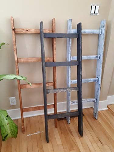 Purchase Blanket Ladder - Solid Wood, Modern Country Style